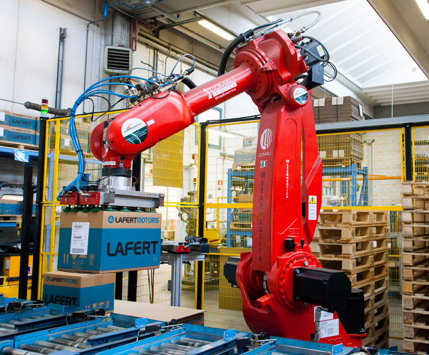 Lafert Group Robot Facility Production