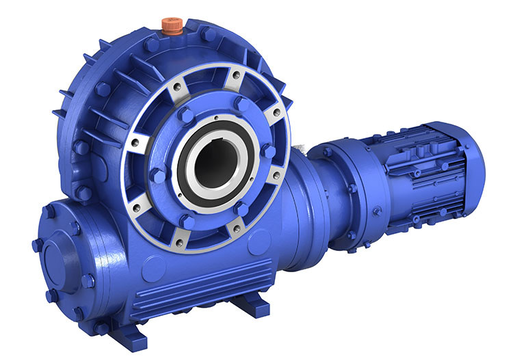 HEDCON Worm Gear Reducer_Hollow Shaft_Vertical Worm