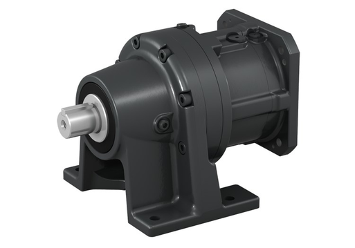 CYCLO Drive for servo motors_Foot Mounting_Left