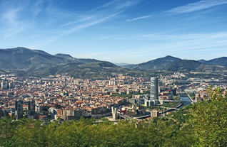 """View of Bilbao, Spain"""