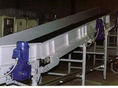 mainline and box line conveyors with gearmotor