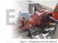 Competitor unit in waster water application
